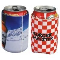 Wholesale Neoprene can cooler sleeve pouch,Neoprene Coke can skin case, sublimation full color print from china suppliers
