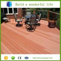 Buy cheap Cheap outdoor wpc eco deck wood plastic composite flooring list from wholesalers
