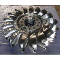Wholesale Stainless steel 0Cr13Ni4Mo Forged CNC Pelton Turbine Runner / Pelton Wheel with Diameter Below 2.5m from china suppliers