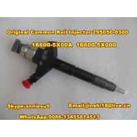 Wholesale DENSO Common rail fuel injector 295050-0300 for NISSAN Pathfinder, NAVARA 16600-5X00A from china suppliers