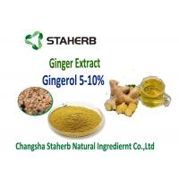 Buy cheap Ginger extract  5%, 10%, 20%, 50% Gingerol by SCFE CO2 Raw materials for gastrointestinal from wholesalers