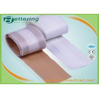 Wholesale Free cutting Medical Fabric Adhesive wound dressing strips first aid plaster strip from china suppliers