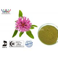 China Natural Isoflavones Red Clover Extract Trifolium Pratense Powder For Women Supplement on sale