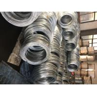 Galvanized steel wire strand for stay wire