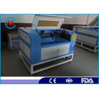 China Glass / Bamboo Laser Engraving Cutting Machine 6040 Laser Cutter With Laser Drow Software on sale