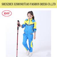 China Anti-Shrink Students School Uniforms Children Track Suit Colored Jacket / Pants on sale