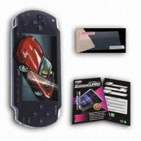 China PSP Screen Protector, Protects LCD Screen from Scratches on sale