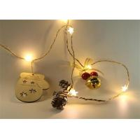 China LED Fairy Lights LED Flashing Lights With 3AA Battery Case Home Decoration Christmas String Light on sale