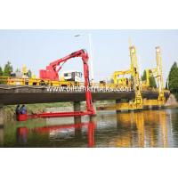 Wholesale FAW 8*4 Euro 5  Bucket Type  Bridge Inspection Trucks  easy access to any position underbridge from china suppliers