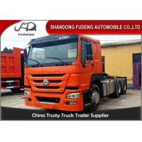 Buy cheap 6X4 Type 375Hp Flatbed Used Tractor Head Trucks from wholesalers