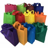 Buy cheap Retail Shop Eco-friendly Non Woven Fabric Tote Shopping Carry Bag bag factory from wholesalers