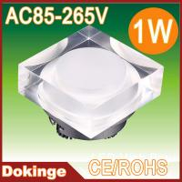 Wholesale AC85~265V high quality RGB square multicolor LED acrylic ceiling light 1W from china suppliers