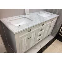 "Wholesale SGS Certificated Marble Vanity Tops With Under Type Sink , 22"" X 60"" Size from china suppliers"