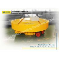 Wholesale Rail Material Handling Turntable Cable Powered For Mud Slag Car Transportation from china suppliers