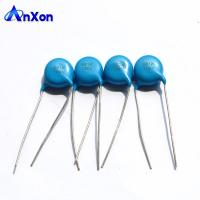 China CT81D10KV681K Capacitor 10KV  680PF 681 High voltage single layer bare disc capacitor on sale