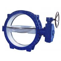 Wholesale Double Eccentric Flanged Butterfly Valves stainless steel , Tri - Eccentric  Butterfly Valve from china suppliers