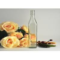 Buy cheap Square Wine Empty Whisky Glass Bottles Container Recyclable Clear from Wholesalers