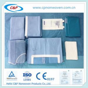 sterile abdominal surgery operating room Laparotomy drape pack