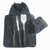 Wholesale Barbecue Tool Set with Satin Polish Blade from china suppliers