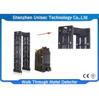 China Black Portable Door Frame Metal Detector For Security Check , CE / ISO on sale