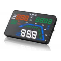 Driving Direction GPS Q7 Heads Up Car Display 5.5 Inch Q7 Speed Local Time Compass HUD