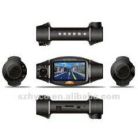 Wholesale Dual Lens car video camera recorder/night vision vehicle DVR/car black box X1000 from china suppliers