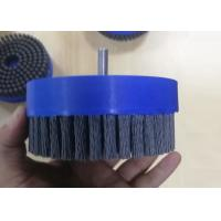 Quality Silicon Carbide Filament Abrasive Disc Brushes 150mm OD With 6mm Shank for sale