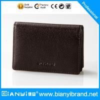 Wholesale 2015 Men's Best-Selling Wholesale Leather card Bag from china suppliers