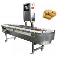 China Automatic Potato Sorting Equipment Onion Grading Machine Processing Line Fruit Processing Equipment on sale