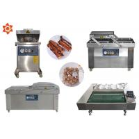 China DZ-1100 Continous Vacuum Food Packaging Sealing Equipment For Rice / Meat on sale