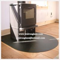 Wholesale Print color Glass Hearth from china suppliers