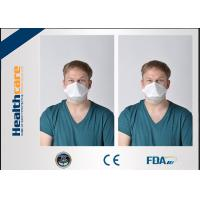 Wholesale 3 Ply N95 Disposable Face Mask / Disposable Particulate Respirator Clam Shape from china suppliers