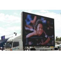 Wholesale HD Transparent Truck Mounted LED Screen Rental , Led Advertising Board from china suppliers