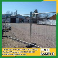 Wholesale JeffersonCity mobile fence portable free standand temporary fence from china suppliers