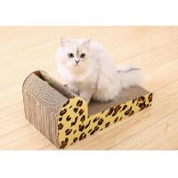 Light Weight Modern Cat Scratchers Paper Raw Material With Water Repellent