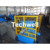 Wholesale Rainwater Downspout Roll Forming Machine With φ75mm Axis for Rainwater Downpipe from china suppliers