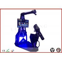 Wholesale Longcheng VR Station Interactive 9D Simulator Shooting Game Machine VR Gatling Fighting HTC Vive VR Theme Park from china suppliers