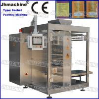 China Big Capacity Multy Lane Four side seal Sachet Packing machine for Granule on sale