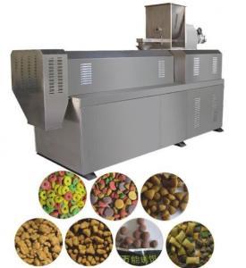 SR -65 Semi Moisture Pet Food Extruder Machine , Pet Food Manufacturing Equipment