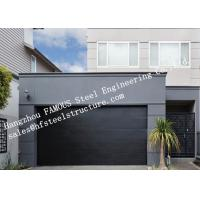 Wholesale Modern Concept Well Insulated Sectional Garage Doors Easy To Operate Electrically Or Manually from china suppliers