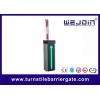 Wholesale Automatic Car Park Barrier Gate with Protective Rubber and LED Traffic Light Boom from china suppliers