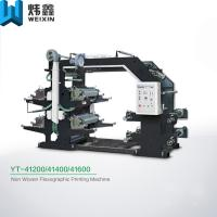 China Four Color Flexo Printing Machine / Automatic Flexographic Printing Equipment on sale