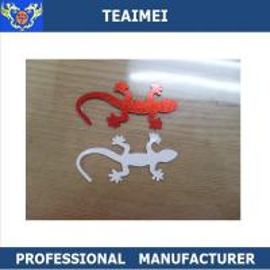 Unique 3D Wall Lizard Sticker Custom Car Emblems ABS Badges 3M Adhesive