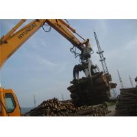 Buy cheap 360 Degree Rotating Wood Grapple Attachment For Excavator Komatsu PC200 from Wholesalers