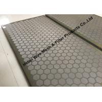 Wholesale 10 - 400 Mesh SUS304 Vibrating Rock Screen For SCM Ellipse 4P Shale Shaker from china suppliers