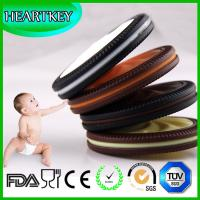 Wholesale Baby teething cookie soft silicone teether biscuits necklace toy from china suppliers