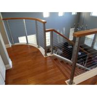 Wholesale DIY Cable Railing / Wire Rope Balustrade with Stainless Steel Wire Ropes from china suppliers