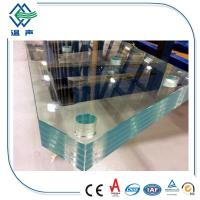 Buy cheap Skylight  two layers Lamianted Glass panels , Processed Solid bent laminated glass from Wholesalers