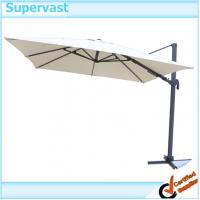 China Custom Rotating Cantilever Patio Umbrellas Outdoor Shade Umbrella Parts on sale