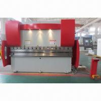 Wholesale CNC Hydraulic Bending Machine with Holland DELEM DA41 System and 4.7-inch bright LCD Display from china suppliers